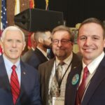 josh with mike pence